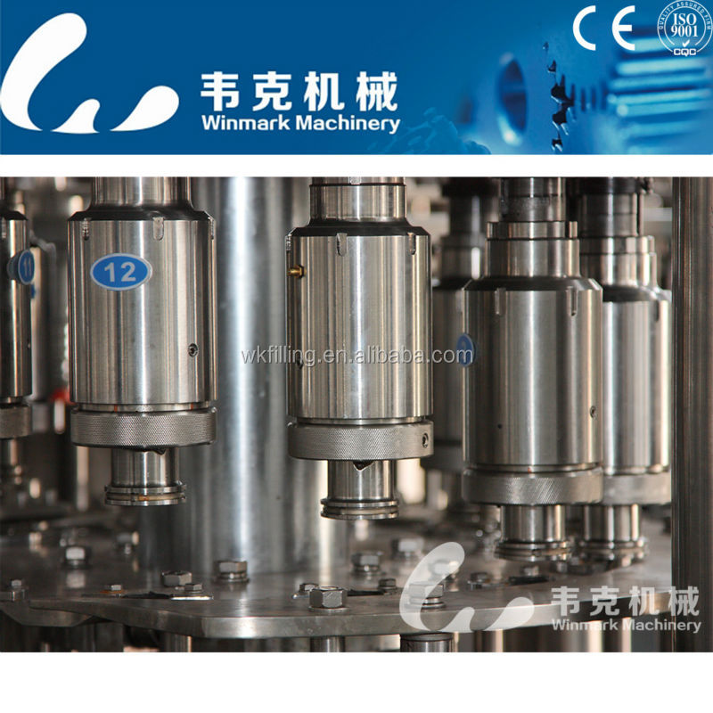 Fruit or vegetables juice hot filling machine