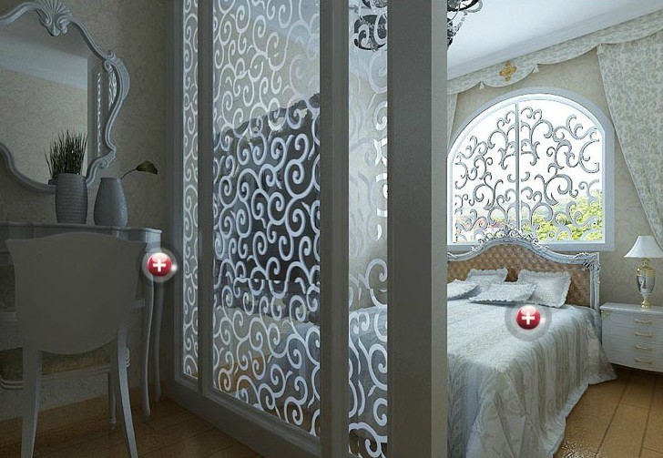 Clear tinted karachi patterned glass for indoor for Bathroom ideas karachi