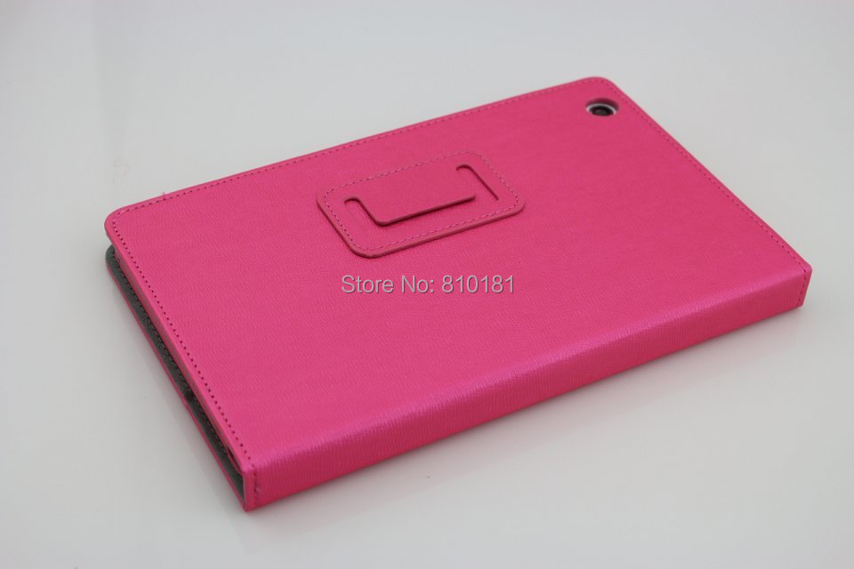 High Quality two folding PU Leather Case with Stand For Lenovo A5500
