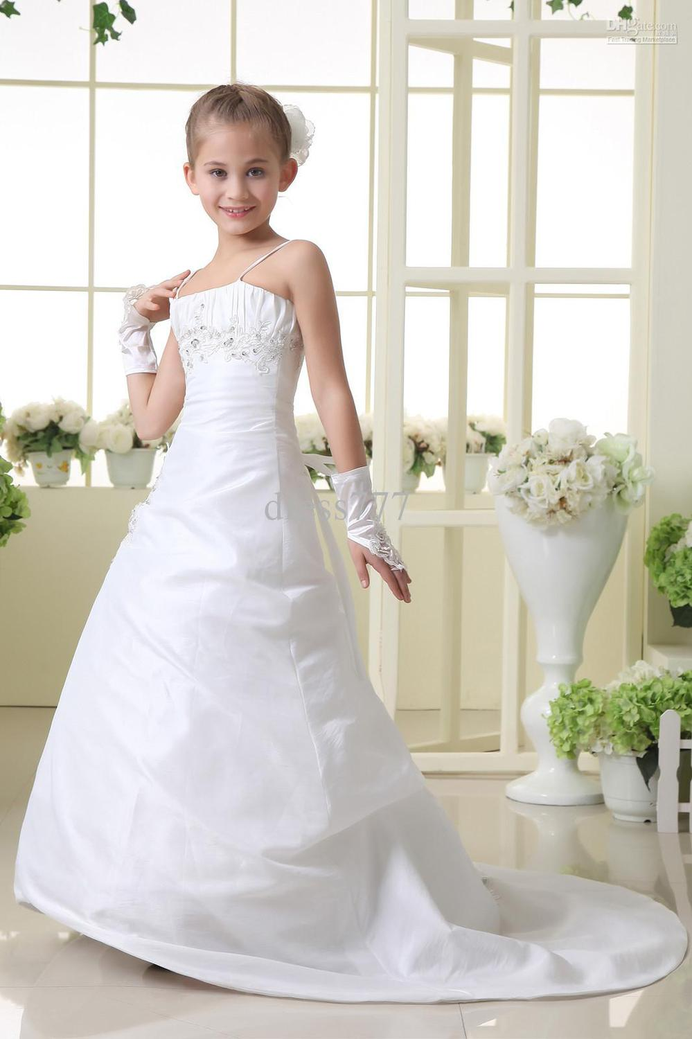 White Party Dresses for Tweens | Dress images
