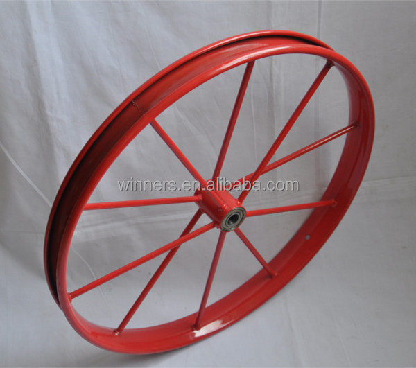 Wooden Balance Bike >> Pneumatic Plastic Outdoor Wooden Wagon Cart Wheel,Garden Wagon Planter Wheel 20inch - Buy ...