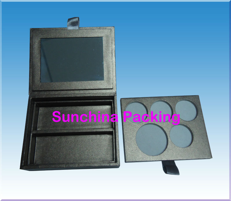 Graceful Design Paper Makeup Palette for Cosmetic Packaging