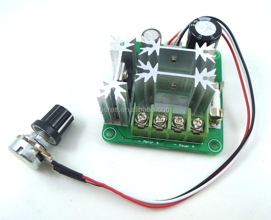 Dc 6v 90v 15a Dc Motor Controller Stepless Speed Regulation Pwm Motor Speed View Speed Control