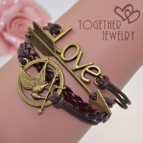 Кожаный браслет Together ,  BL-53