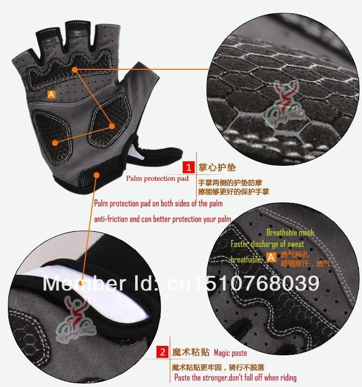 Мужские перчатки для велоспорта thott! Finger , G-S02