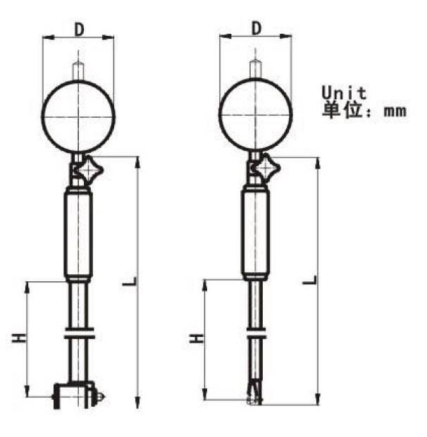 Циферблатный индикатор CHENGLIANG TOOLS 50/100 , 0,001 , 7um 1014175058
