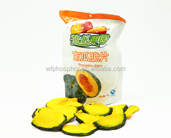 VF Pumpkin Chips Vegetable Chips Healthy Snacks