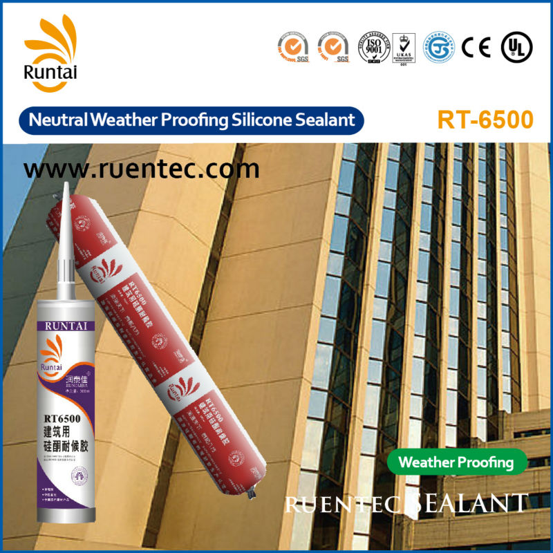 RT-6500 Weatherproofing Silicone Sealant for Building