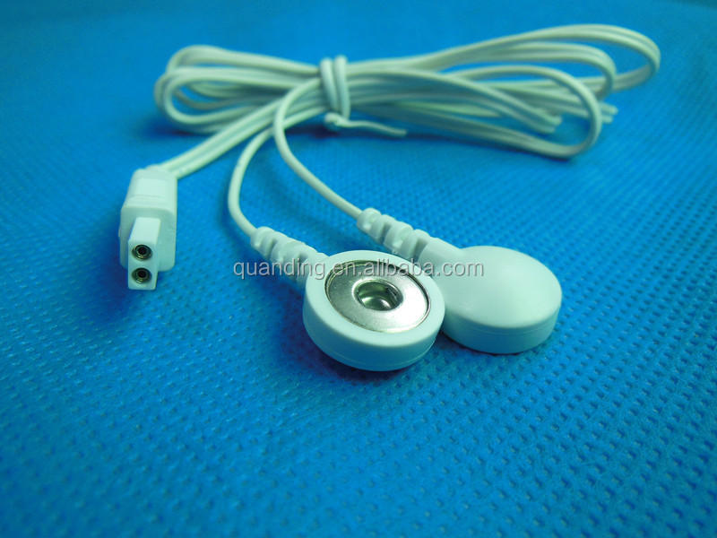 High Quality Electrode Lead Wire /cables With Snap Button For ...