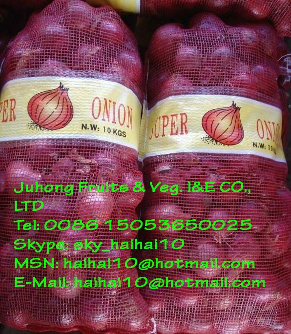 Hot Sell Red Onion 3-9cm