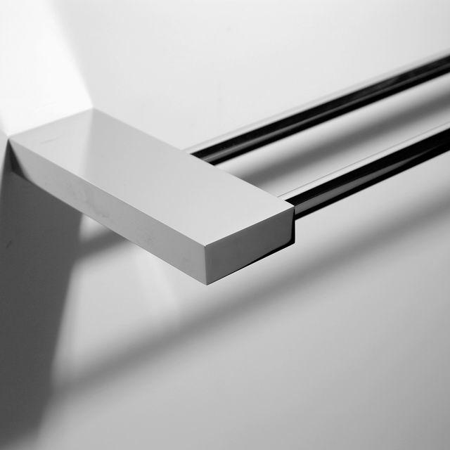 Carr en acier inoxydable salle de bains tag re d 39 angle for Etagere en verre salle de bain