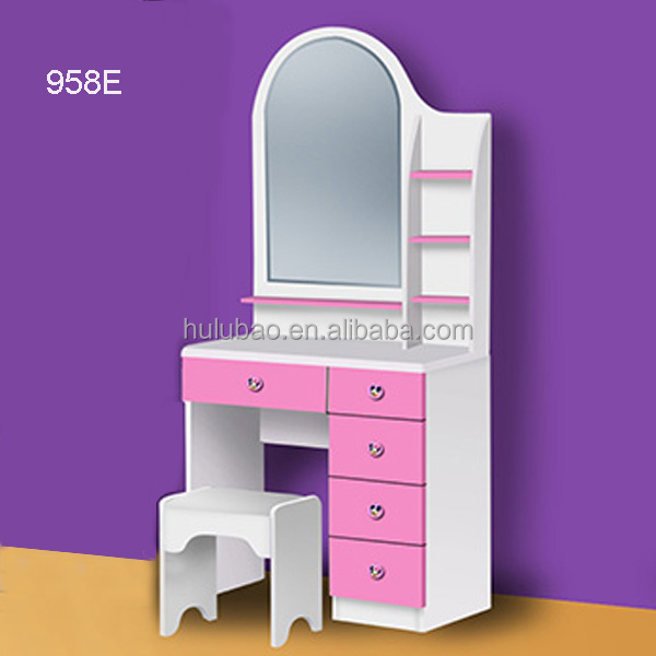 Bedroom Dresser / Wood Dressing Table With Mirror /bedroom Furniture ...