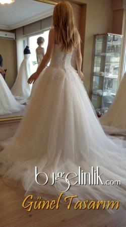 Популярные кружева Тюль вера простой свадебное платье в Бразилии
