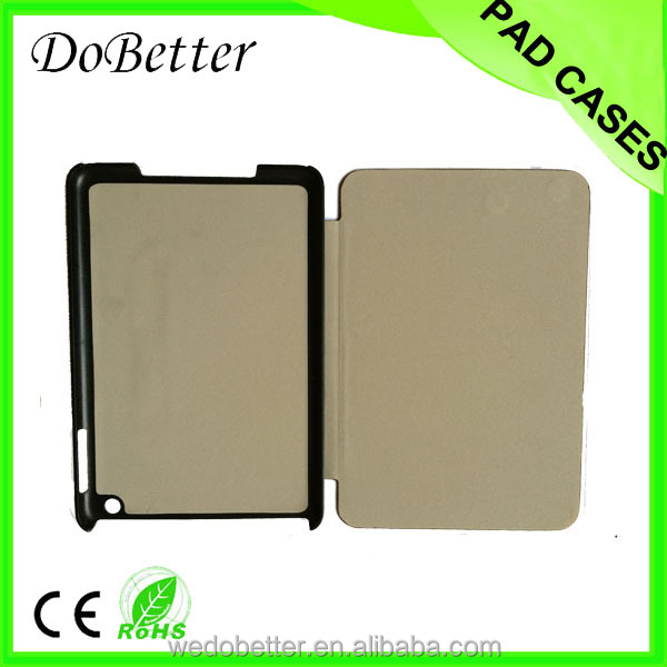 New design hot selling leather case for ipad mini with auto sleep wake function