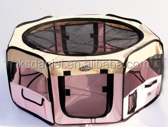 Foldable Pet Exercise Pen, XL, 125cm