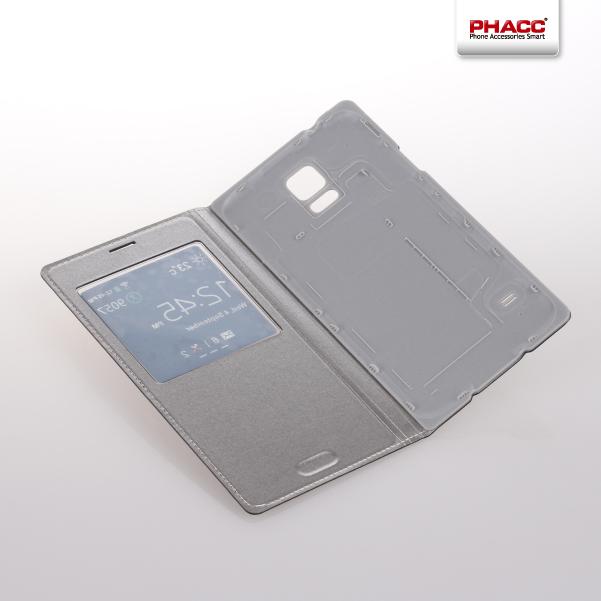 LP001 six color PU leather flip case for Samsung S5
