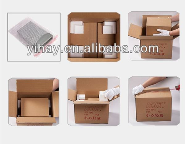 Custom high quality wooden wine box pu leather wine carrier for 2 bottles