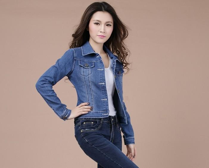 Продаем новые slim джинсовый пэчворк пиджаки джинсы пальто классической куртки женские пальто джинсы мода заклепки куртки женские