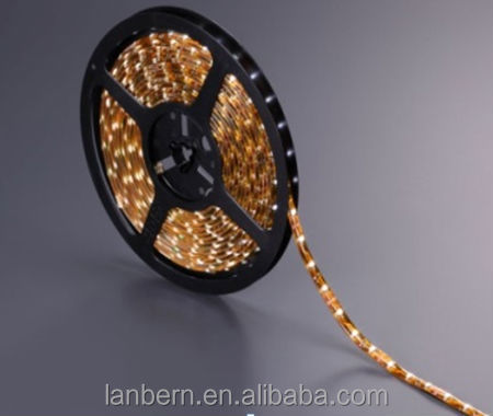 PU Glue Not Go Yellow! Distributors wanted energy saving IP65 exterior 60led/m SMD3528 continuous led strip CE&ROHS