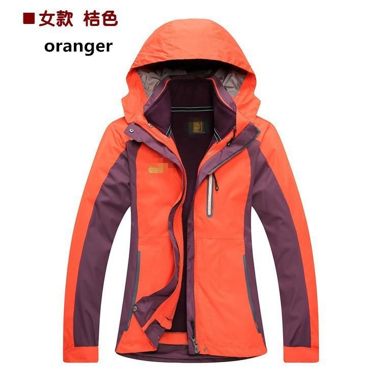 отличный дизайн новых женщин зима водонепроницаемый ветрозащитный Пешие прогулки Кемпинг куртка лыжный костюм одежда куртка пуховики