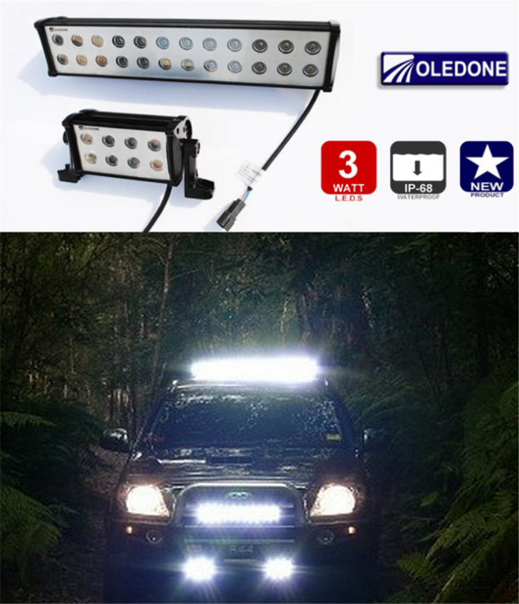 High power LED light bar, LED off road light, LED driving light, IP 68, super anti-shock!
