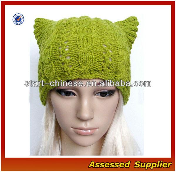 NBH041/gorros de invierno con oreja de gato/ gorrita de moda ...