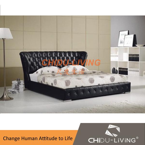 No moderne lit conceptions, nouveau modèle de mobilier de chambre