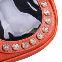 Маленькая сумочка BETR Lady Crossbody Single Shoulder Bag Cool Shades Shiny Rhinestone Clutch