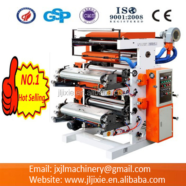 Plastic Film Four-color Flexographic Printing Machine