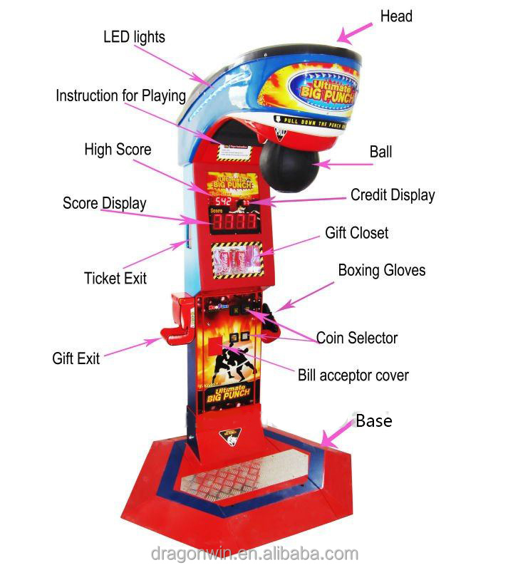punch arcade machine