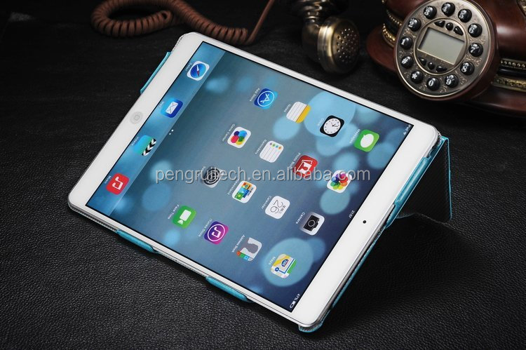 For Apple iPad 5 iPad Air High Quality Crazy Horse Transformer PU Leather Smart flip cover