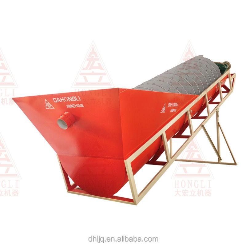 mining machine screw sand washing machine small sand washer LX1200 sand washing plant