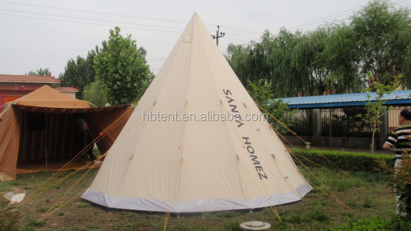 toile de coton de tipi en plein air tente tipi acheter. Black Bedroom Furniture Sets. Home Design Ideas