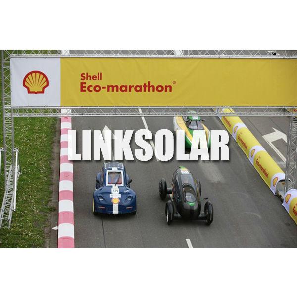 LINKSOLAR A grade/ B grade 100W Sunpower MONO Semi Flexible Solar Panel for RV BOAT CARAVAN