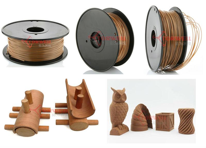 wood filament-wood 3d filamentwood filament-wood 3d filament-1.75mm wood filament-torwell wood filament-laywood filament