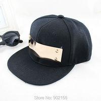 Купите один получить один бесплатный хип поп новые летние солнце шляпа колпачок Бейсболка регулируемый для мужчин и женщин
