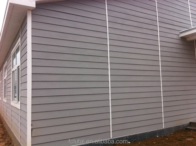 Wood grain siding panel wall cladding exterior cladding for Wood grain siding panels