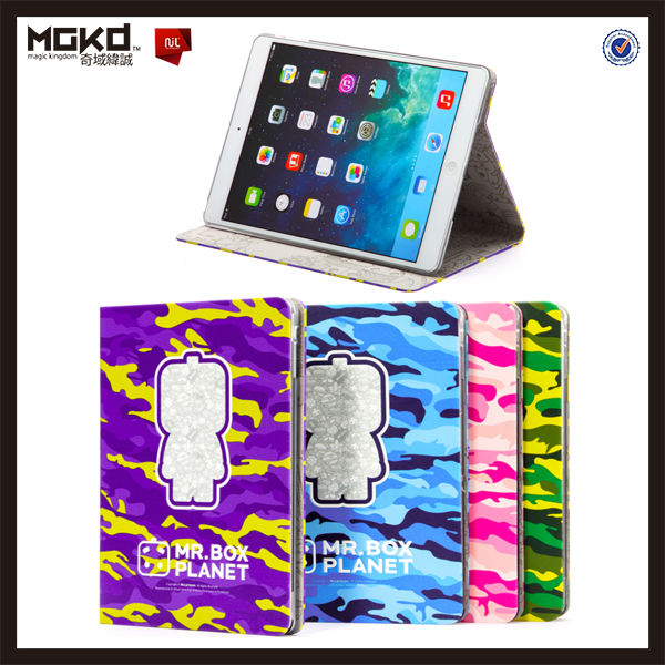 2014 newly pushing out MR.BOX PU for ipad leather case