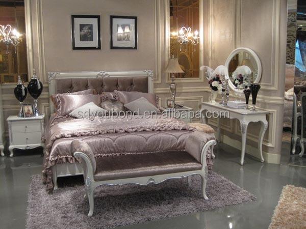 Yb07 alibaba muebles de dormitorio juegos de muebles tallados de ...