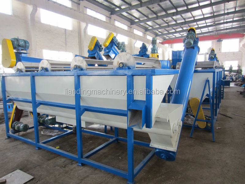 recycling of plastic bottles machine