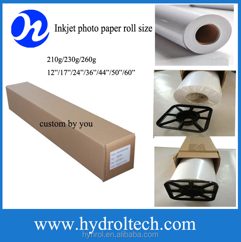 silky photo paper for digital printing