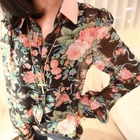 Женские блузки и Рубашки Drop CY0813