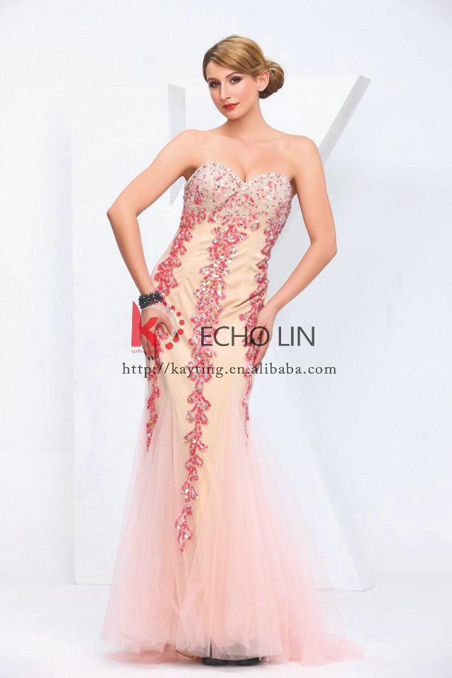 Prom Dress Light Pink ...