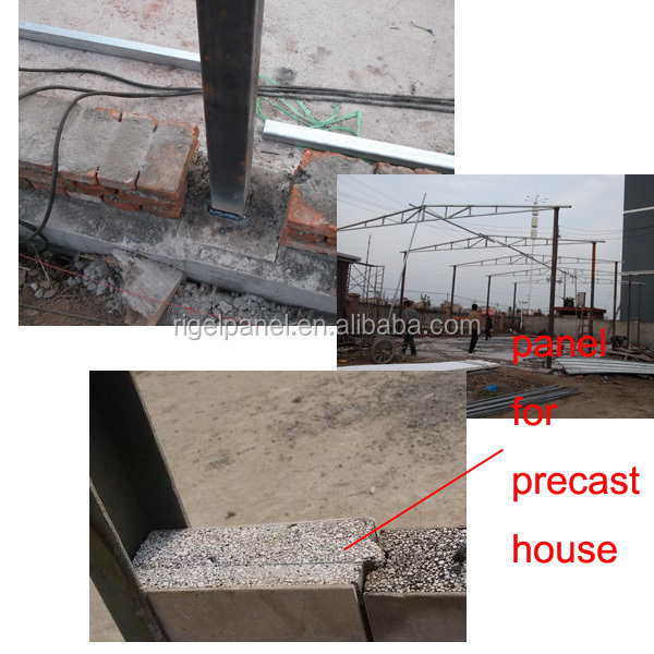 Lightweight fireproof waterproof compound concrete filled for Cement foam blocks
