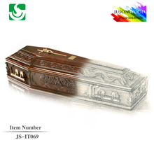 Wholesale funeral supplies wooden coffin manufacturer in China