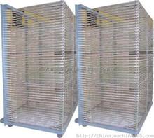 Screen printing finishing mesh clothes drying rack