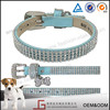 Wholesale Cheap Handmade Spiked Genuine Leather Dog Collar For Dogs