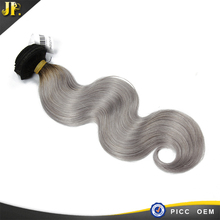 2015 be popular in many country of grey color for 100% human virgin hair