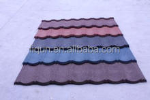 high quality roofing tile manufacturer mixed color stone coated roofing shingles stone coated metal roof tile promotion