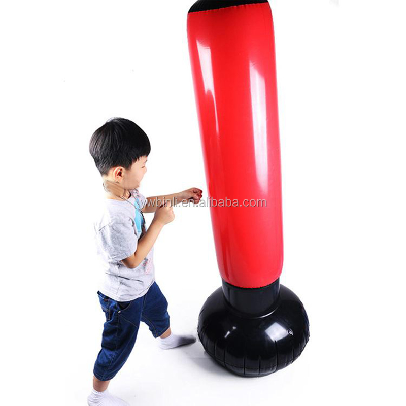JUMBO BOXING INFLATABLE PUNCHING TOWER